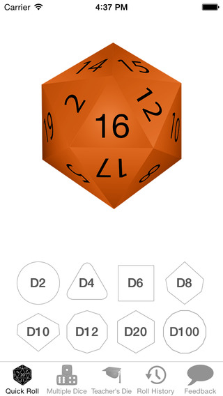 Natural 20 Lite - for Rolling Dice