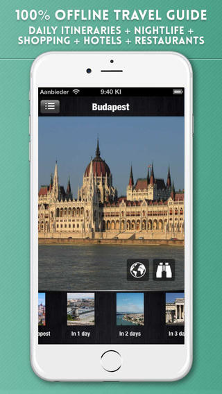 Budapest Travel Guide with Offline City Street and Metro Maps