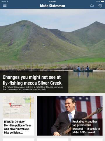Idaho Statesman Newspaper app for iPad – Local News Politics Weather Sports Traffic for the Boise Ar