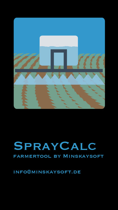 Spray Calc iPhone Screenshot 1