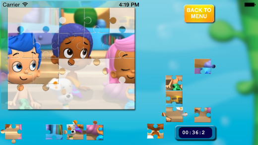 Puzzles Game for Bubble Guppies Free Version App