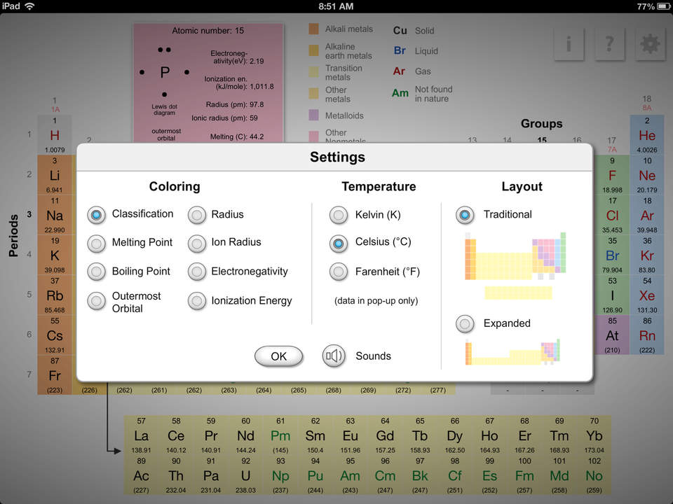 K12 periodic table of the elements apprecs k12 periodic table of the elements screenshot urtaz Images