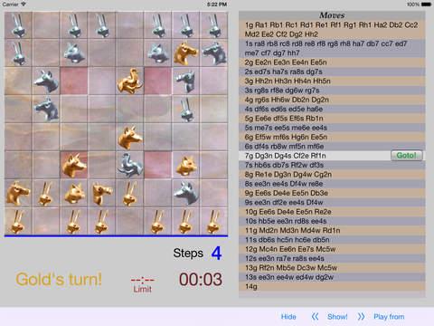 Arimaa Trainer iPad Screenshot 3