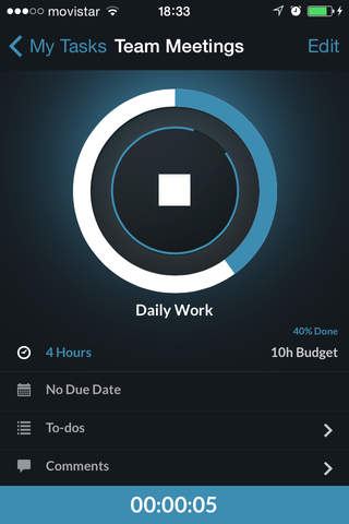 TrackingTime PRO screenshot 1