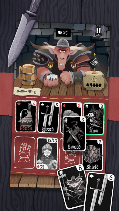 Screenshot 1 Card Crawl