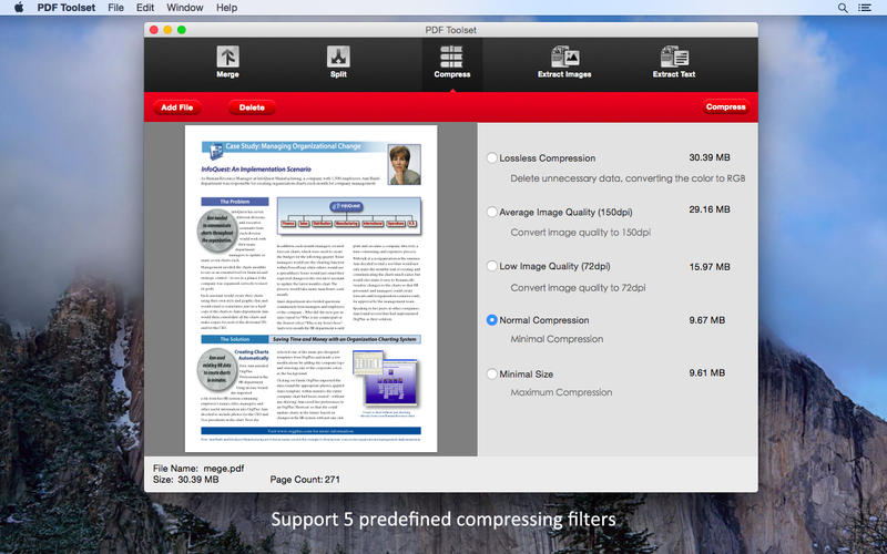 PDF Toolset Screenshot - 3