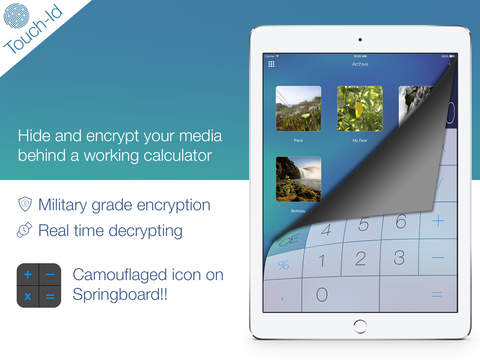 Secret photos KYMS: vault to hide and lock pictures, videos, documents screenshot
