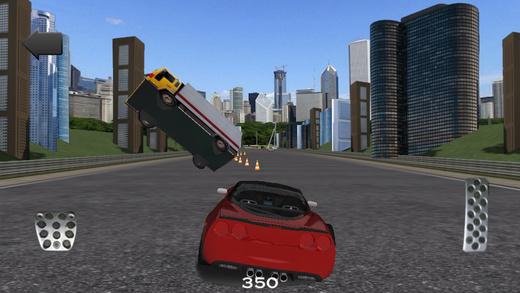 A Highway Racer game - Corvette Camaro edition