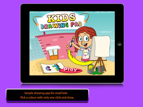 Kids Drawing Pad - Color Draw