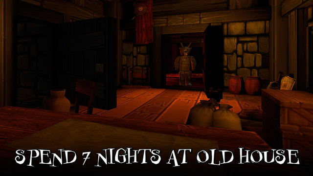 Nights at Old Cartoon Mansion 3D Full Screenshots