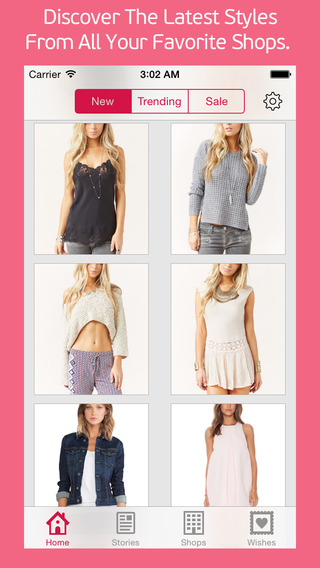 Wishful - Wish Shop The Latest In Fashion