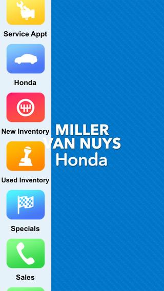 Miller Honda Van Nuys Dealer App