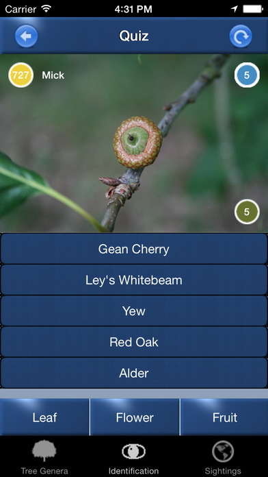 TreeId - The British Tree Identification Guide iPhone Screenshot 5
