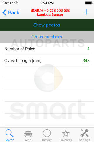 Autoparts for Smart screenshot 3