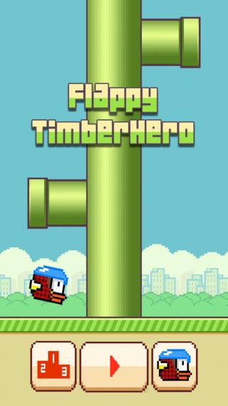 Flappy Timber Hero