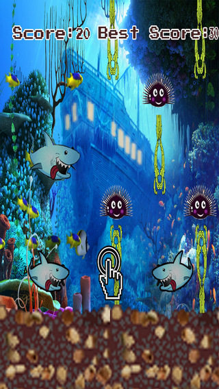 Crazy Flappy Shark