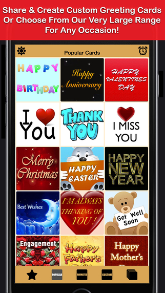 Greeting Cards App - Free eCards Send Create Custom Fun Funny Personalised Card.s For Social Network