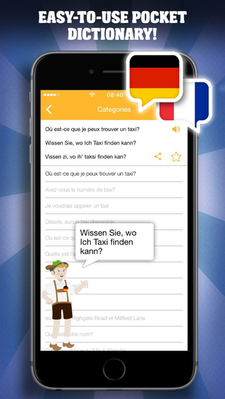Essential Phrases Collection - German-French