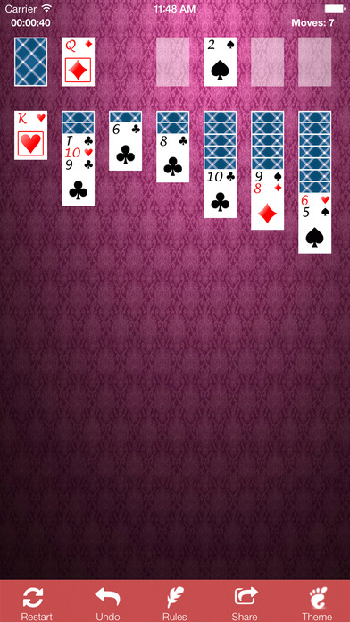 Solitaire Hard - Cards Game Spider Solitaire