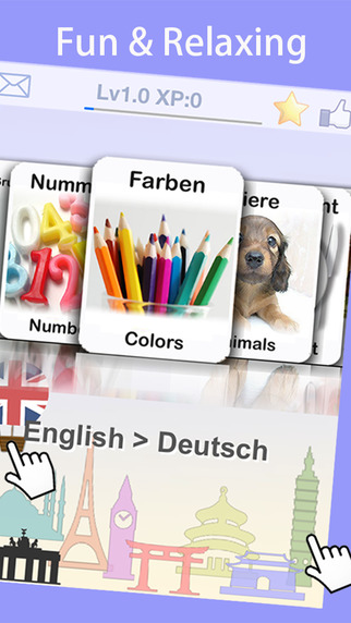 Learn German Vocabulary to Travel Germany with Baby FlashCard by LingoCards Free