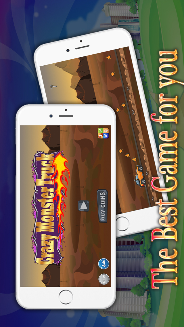 Crazy Monster Truck Dirt Race Free – Fun Road Trip Warrior Racing
