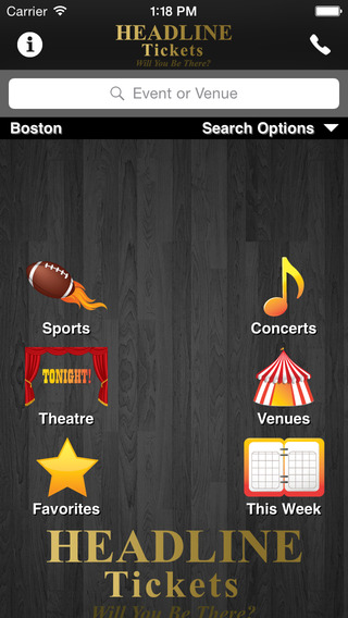 Headline Tickets - Concerts Sports Theater Tickets