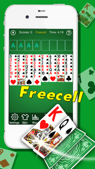 Freecell Solitaire Pro- Patience Card Games