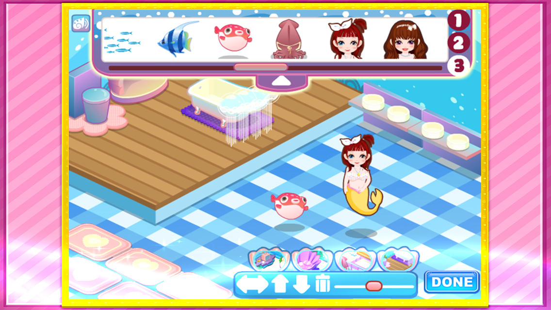 App Shopper Mermaid Decorate The House Games