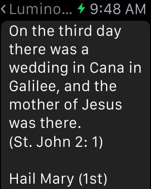 Scriptural Rosary iPhone Screenshot 9