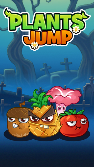 Plants Jump - Escape Run Adventure From The Angry Zombies