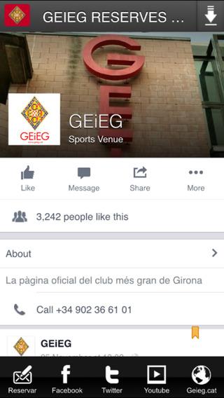 GEIEG RESERVES ONLINE