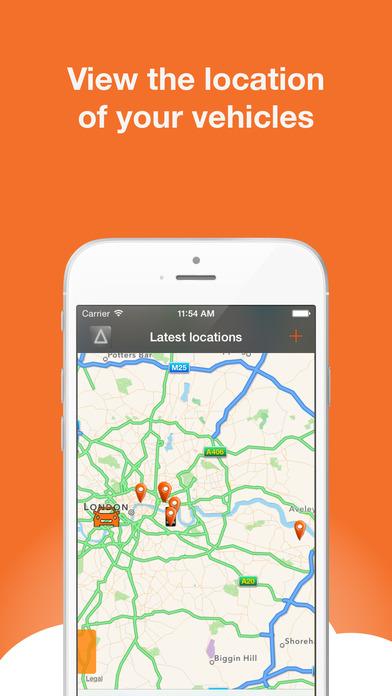 AutoAlert Tracker iPhone Screenshot 2