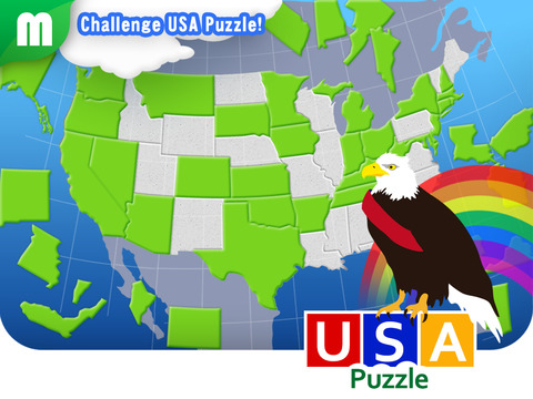 USA Map Puzzle