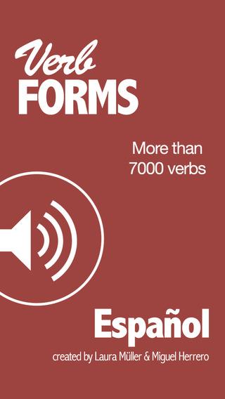 Spanish Verbs Conjugation - VerbForms Español