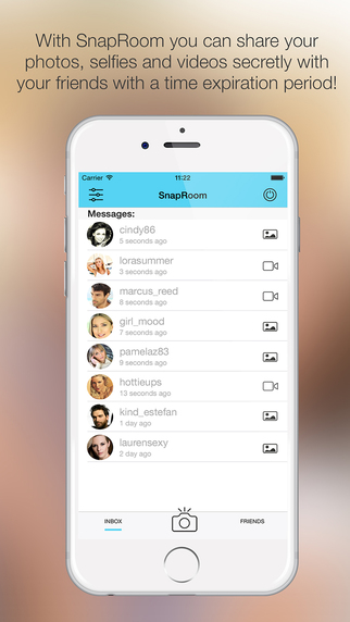 SnapRoom - Share Photos and Videos Secretly