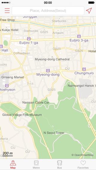 Korea Tour - Offline Maps Metro Map