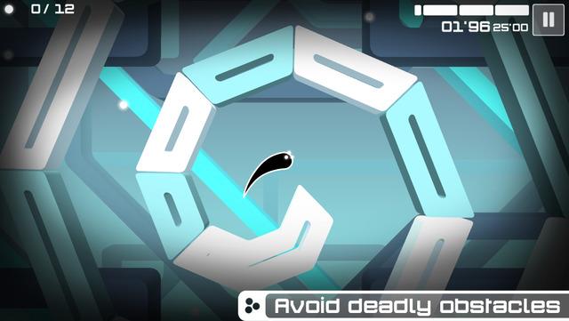 Spectrum - a platform game with a unique design (via touchtapplay.com)