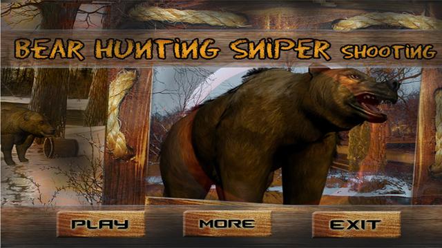Wild Bear Hunting 3D - Sniper Shooting Survival 2015