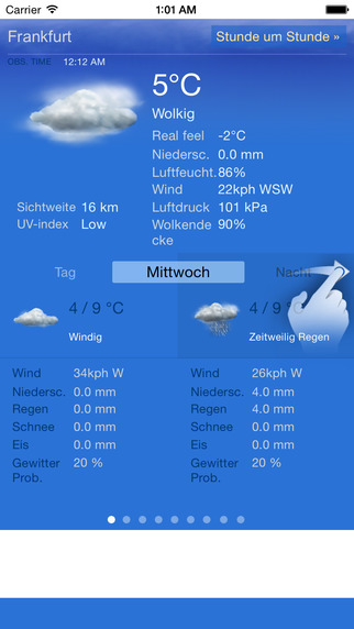 Wetter Frankfurt