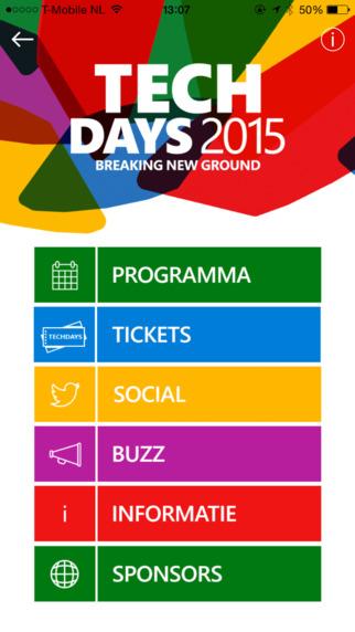 TechDaysNL 2015