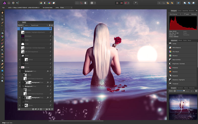Affinity Photo Screenshot - 1