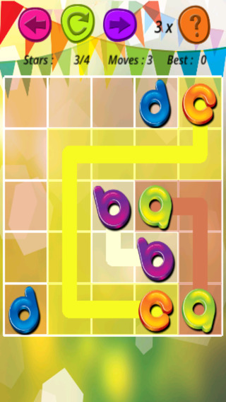 Letter Jelly Flow - Top Brain Checking Puzzle Game