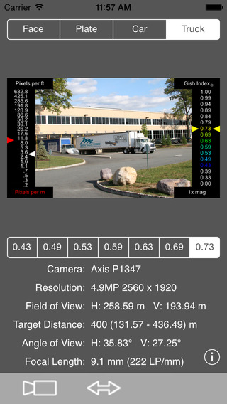 vsCalc Axis iPhone Screenshot 4