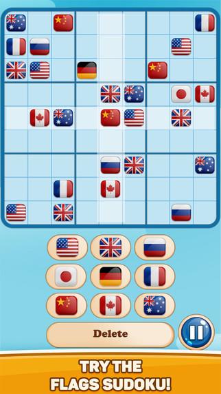 World Flags Sudokon FULL