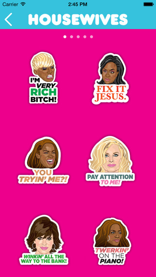 The Real Housewives Stickermojis