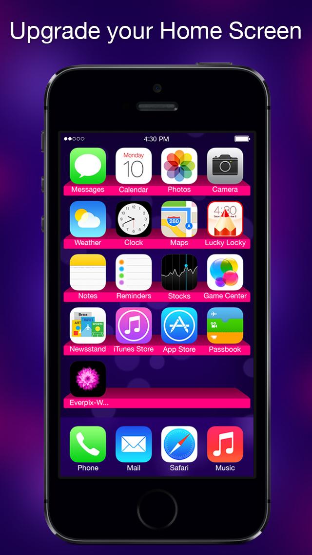 Calendar App Wallpaper Iphone : Lucky locky themes for ios cool custom lock screen