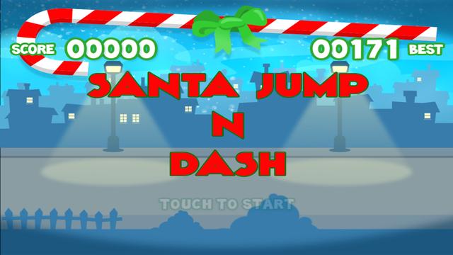 Santa Jump n Dash - Christmas Game