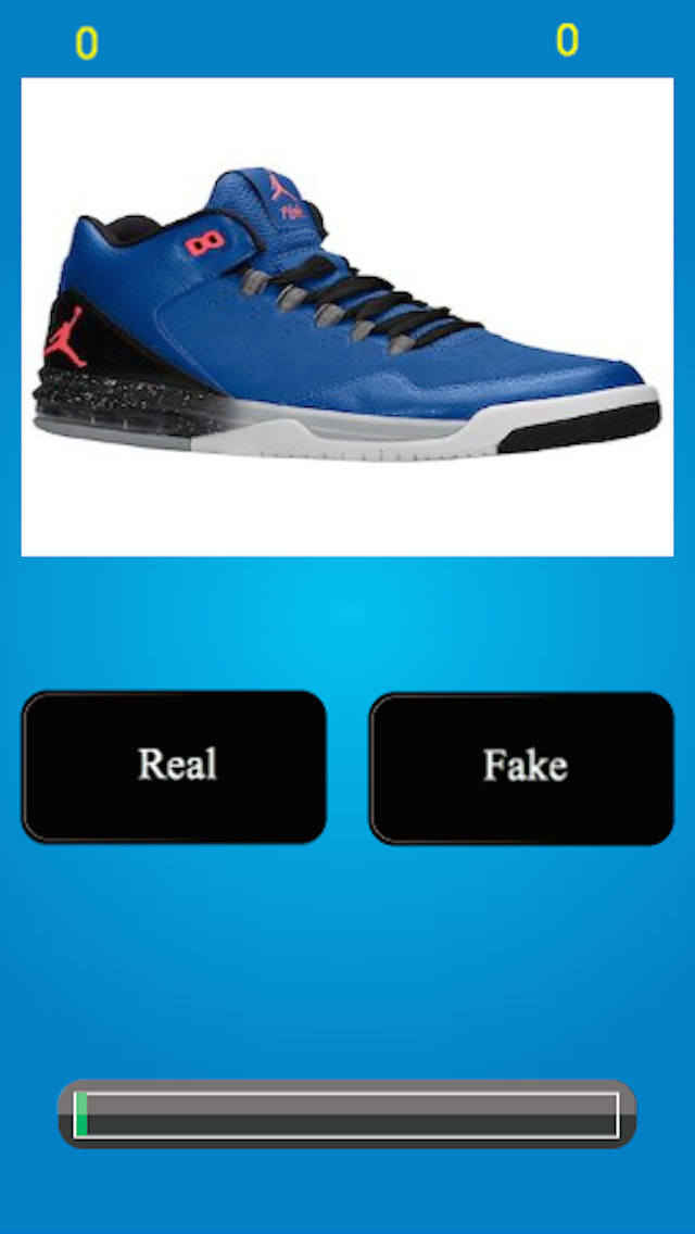 Jordan Shoe Quiz screenshot · Real or Fake? Jordan Shoe Quiz screenshot ...