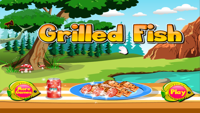 Grilled Fish - Cooking games