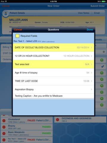 MCL Mobile for iPad screenshot 4